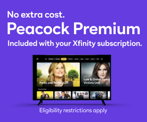 peacock promotion
